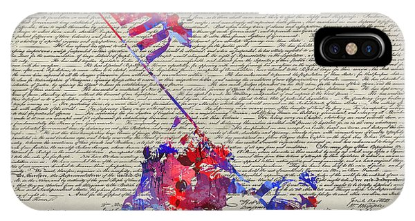 Iwo Jima Declaration Of Freedom IPhone Case