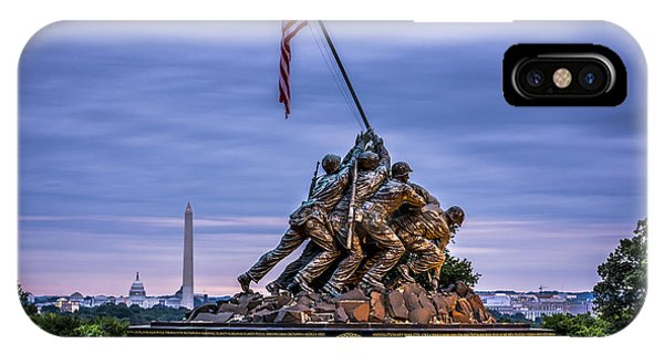 Iwo Jima Monument IPhone Case