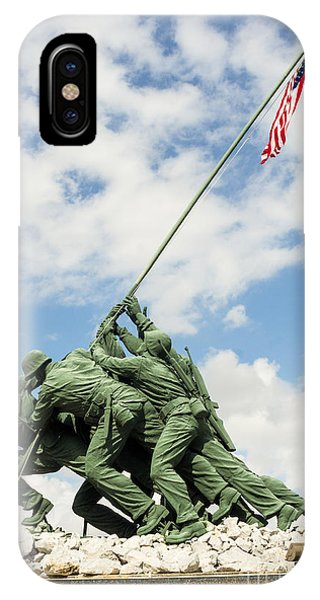 Iwo Jima Monument II IPhone Case