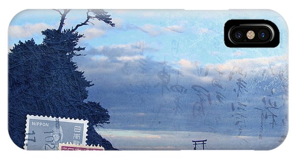 Texture iPhone Case - Izu by Delphimages Photo Creations