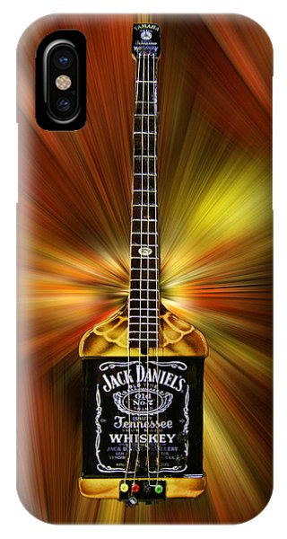 Jack Daniels Whiskey Guitar IPhone Case