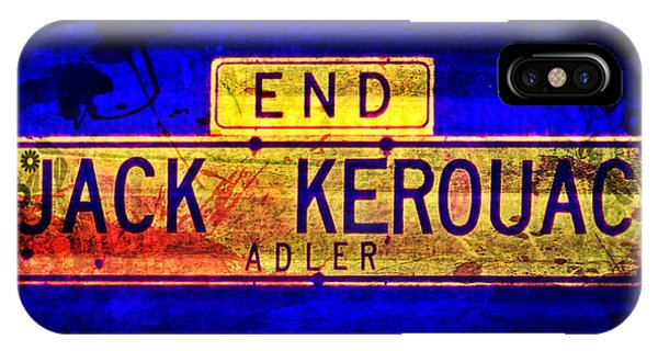 Jack Kerouac Alley IPhone Case