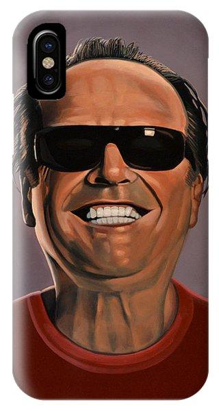Jack iPhone Case - Jack Nicholson 2 by Paul Meijering