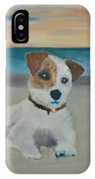 Jack On The Beach IPhone Case