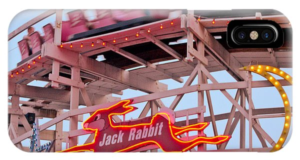 Jack Rabbit Coaster Kennywood Park IPhone Case