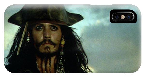 Orlando Bloom iPhone Case - Jack Sparrow by Jack Hood