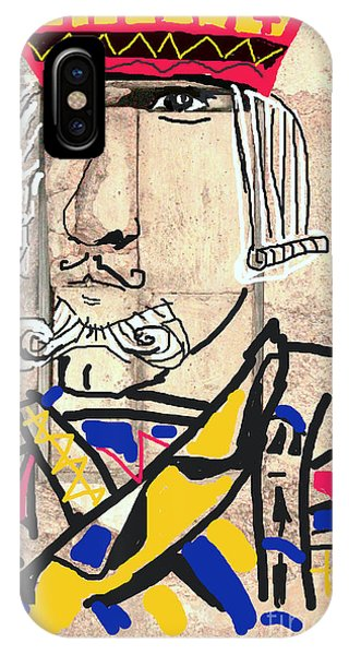 Jack The King IPhone Case