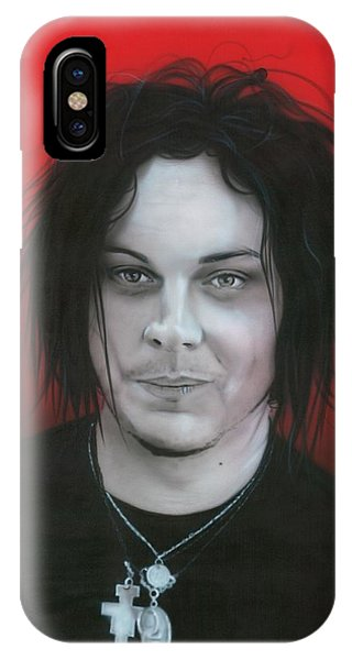 Stars And Stripes iPhone Case - Jack White by Christian Chapman Art