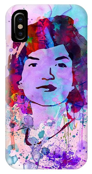 Rights iPhone Case - Jackie Kennedy Watercolor by Naxart Studio