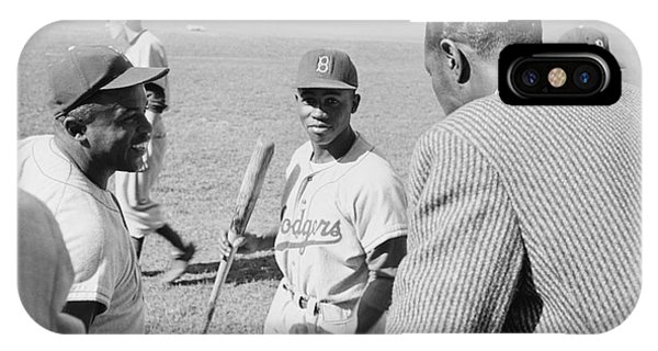 Jackie Robinson Hank Aaron And Nat King Cole IPhone Case