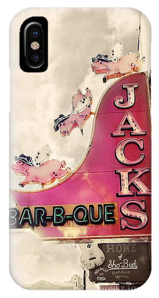 Jacks Bbq IPhone Case