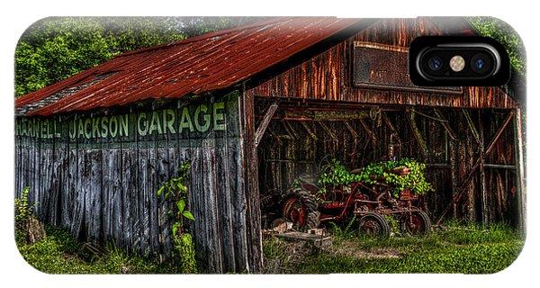 Jackson Garage Phone Case by Russ Burch