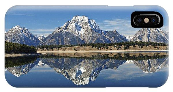 Jackson Lake Reflection IPhone Case