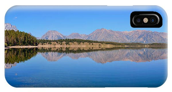 Jackson Lake Reflections IPhone Case