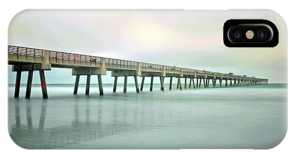 Jacksonville Beach Pier IPhone Case