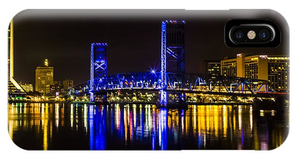 Jacksonville Skyline IPhone Case