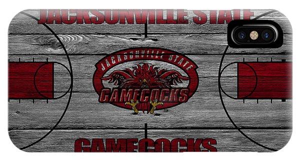 Gamecocks iPhone Case - Jacksonville State Gamecocks by Joe Hamilton