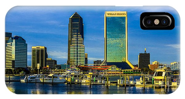 Jacksonville Skyline Sunset IPhone Case