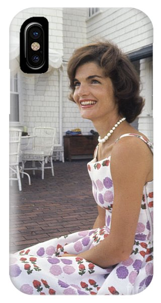 Jacqueline Kennedy At Hyannis Port 1959 IPhone Case