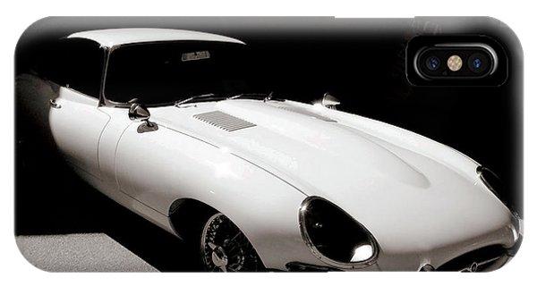 Jaguar E-type Coupe IPhone Case