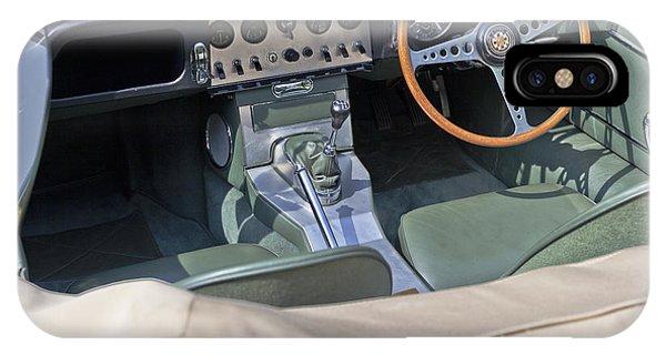 Jaguar E-type Series 1 IPhone Case