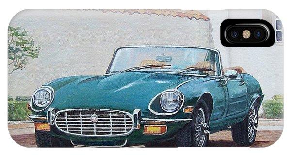 Jaguar Xke 1961-1975 IPhone Case