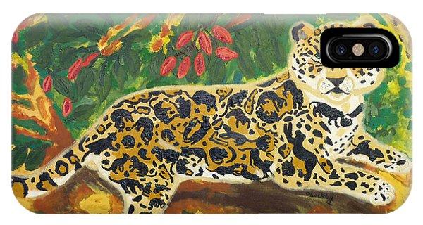 Jaguars In A Jaguar IPhone Case