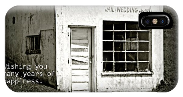 Jail And Wedding Chapel IPhone Case