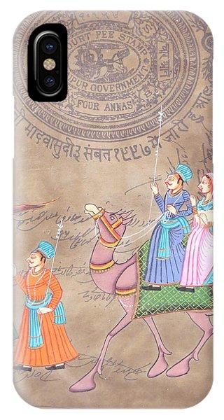 Jaipur Court Stamp IPhone Case