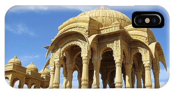Jaisalmer Cenotaph IPhone Case
