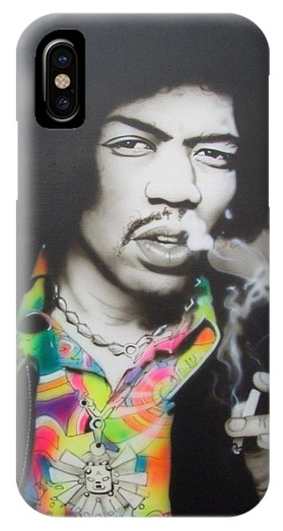 Neon iPhone Case - Jam Back At The House by Christian Chapman Art