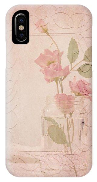 Jam Jar Roses  IPhone Case
