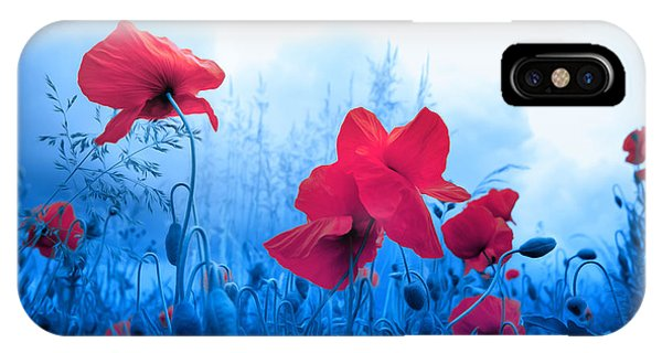 Jam With Poppies IPhone Case