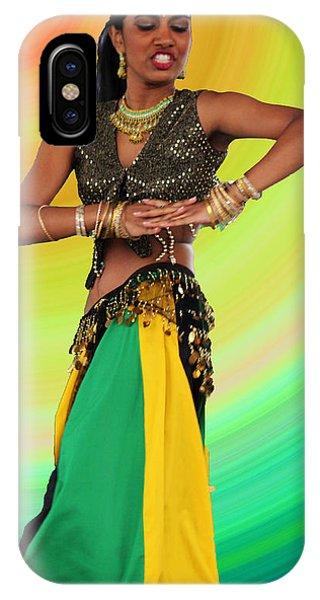 Jamaican Belly Dancer IPhone Case