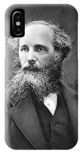 James Clerk Maxwell IPhone Case