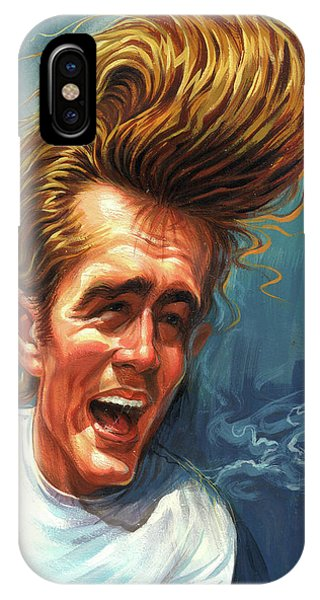 James Dean Phone Case by Art