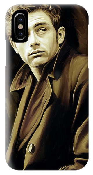 Celebrity iPhone Case - James Dean Artwork by Sheraz A