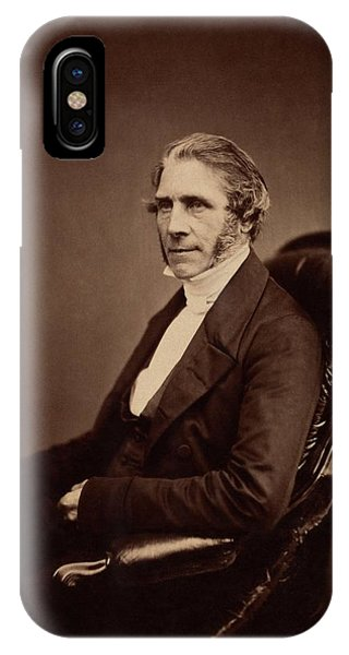 1862 iPhone Case - James Glaisher by Royal Institution Of Great Britain / Science Photo Library