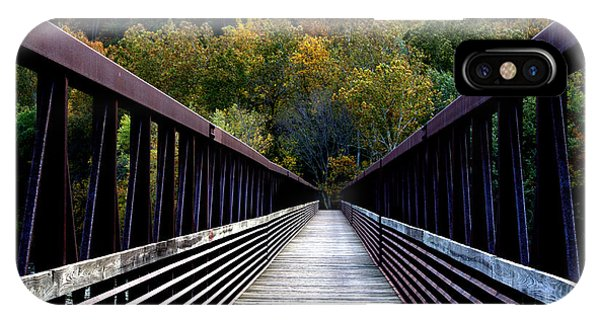 James River Footbridge IPhone Case
