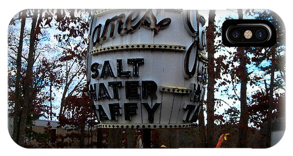 James Salt Water New Jersey Taffy IPhone Case