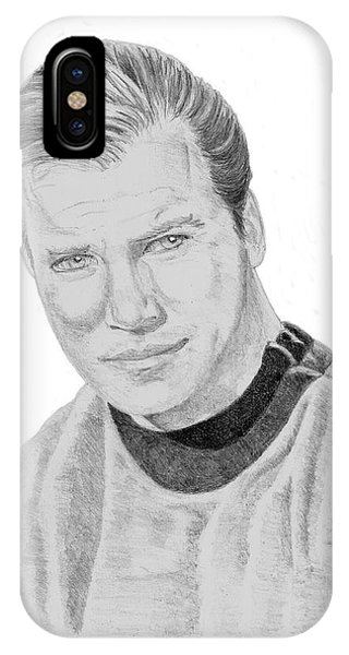 James Tiberius Kirk IPhone Case