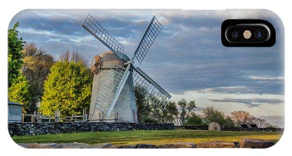 Jamestown Windmill IPhone Case