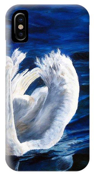 Jamie's Swan IPhone Case