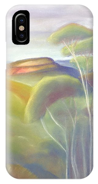 Jamison Valley Blue Mountains National Park Nsw Australia IPhone Case