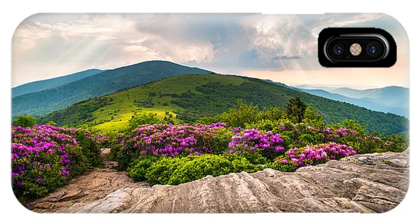 North Carolina Blue Ridge Mountains Landscape Jane Bald Appalachian Trail IPhone Case