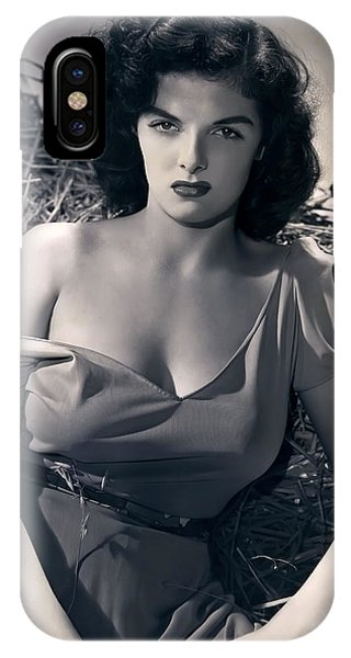 Leading Actress iPhone Case - Jane Russell by Daniel Hagerman