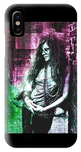 Janis Joplin - Pink IPhone Case