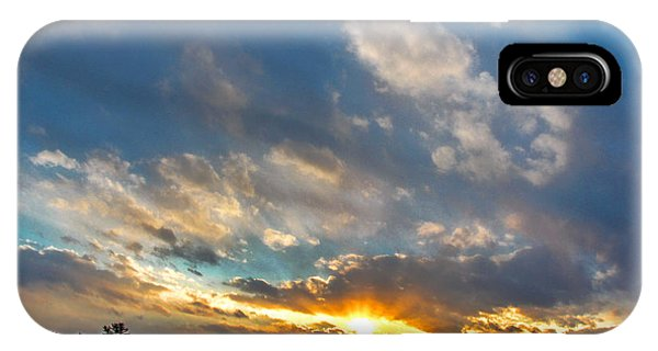 January Sunset IPhone Case