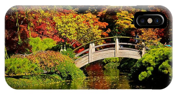 IPhone Case featuring the photograph Japanese Gardens 9540 by Ricardo J Ruiz de Porras
