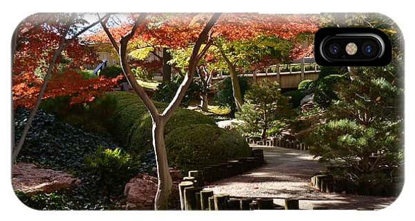 IPhone Case featuring the photograph Japanese Gardens 9554 by Ricardo J Ruiz de Porras